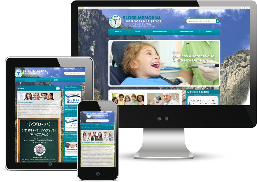 Bloss Memorial Healthcare District Website