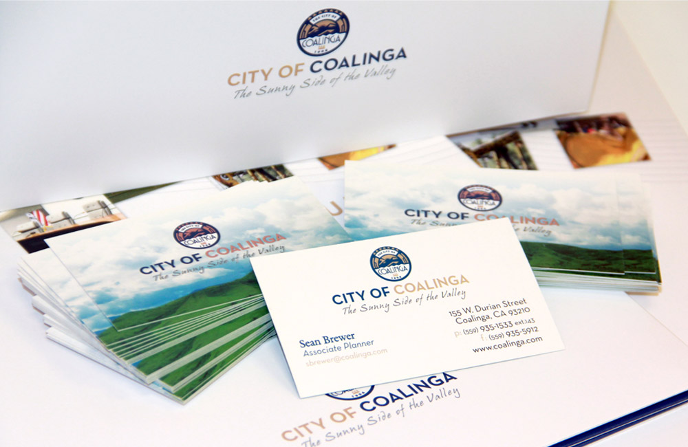 City of Coalinga Brand and Identity System