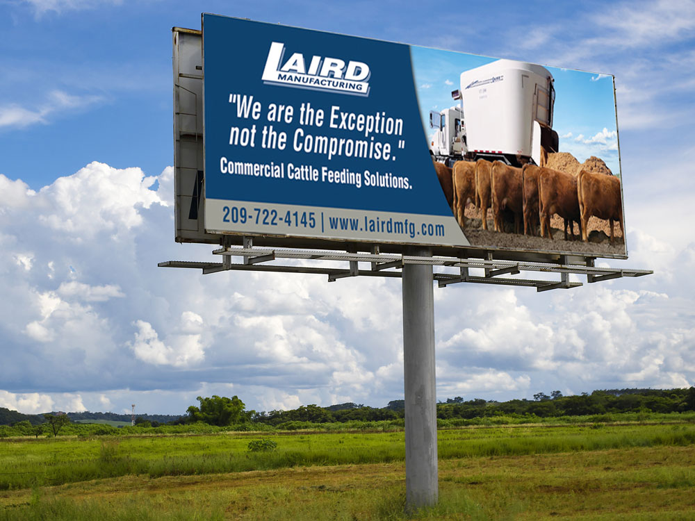 Laird Manufacturing Billboard