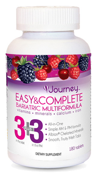 Journey Vitamin Label