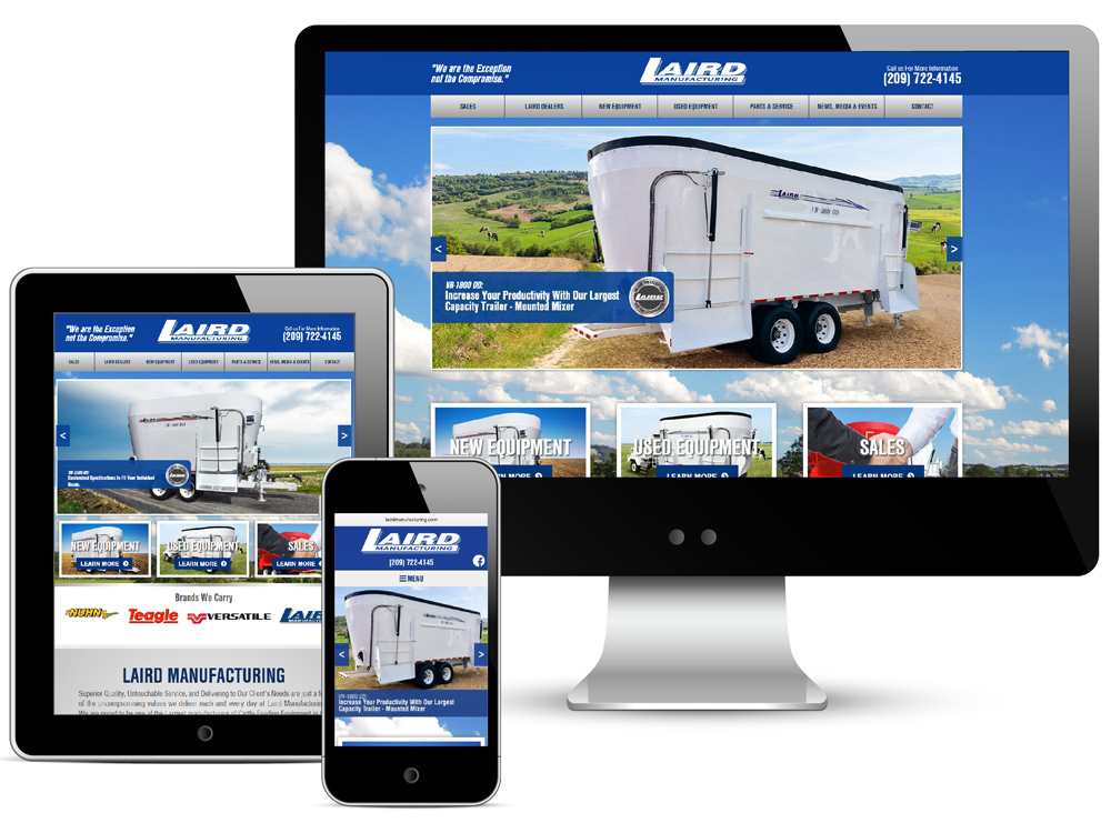 Laird Manufacturing Website